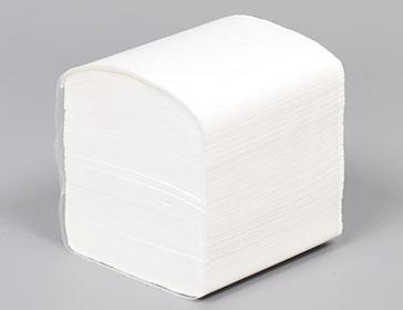 Toaletni (samosloživi ) papir u listićima200 listića/klip, 100% celuloza, 40 klipova u bali