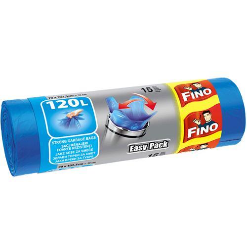 Fino easy kese za smeće, 120l, 15 kom
