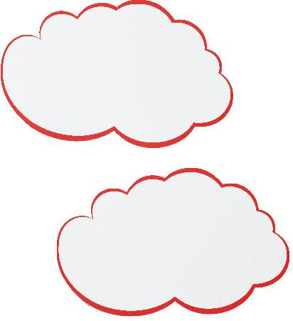 Kartoni za moderaciju FRANKEN oblacici 37x62cm